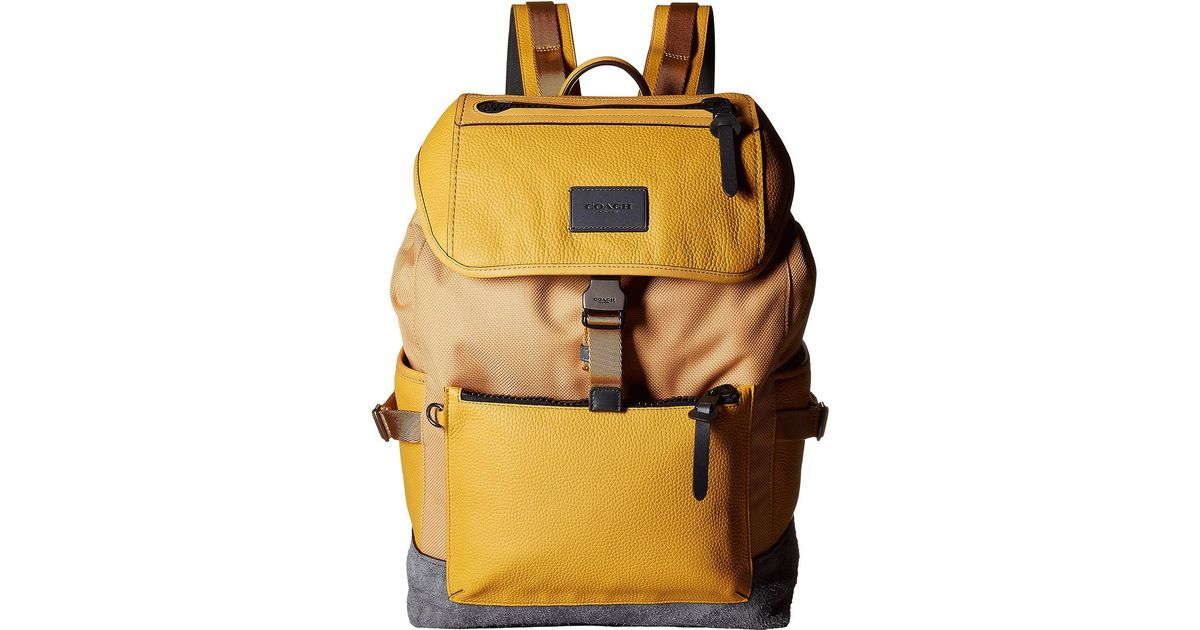 3eb0f336f182 best price coach backpacks bags yellow yellow c9a6b 398df