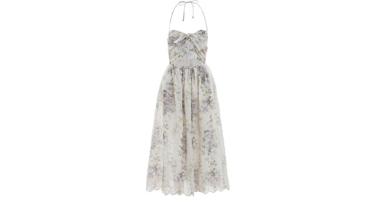 61879dc791a Lyst - Zimmermann Iris Picnic Dress