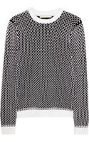 Richard Nicoll Chunky-knit Cotton-blend Sweater - Lyst