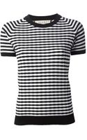 Marni Striped Sweater - Lyst