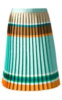 Ostwald Helgason Colour Block Aline Skirt - Lyst
