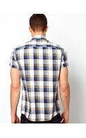Asos Check Shirt in Short Sleeve