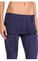 Indah Ainslie Flare Lounge Pant in Purple - Lyst