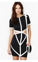 Nasty Gal Reverse Shadow Dress