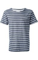 Saturdays Surf Nyc Striped Tshirt