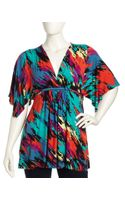 Rachel Pally Butterfly Sleeve Caftan Tunic