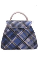 Vivienne Westwood Techno Tartan Shoulder Bag - Lyst