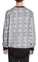 Givenchy Argyle Print Front Patched Sweater - Lyst