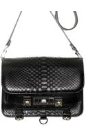 Proenza Schouler Ps11 Shiny Python Shoulder Bag