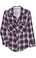 Etoile Isabel Marant Gibson Plaid Cotton Shirt