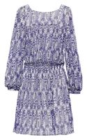 Etoile Isabel Marant Printed Crinkled Silk-crepe Dress