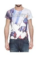 D&G Mickey Mouse Printed Jersey T-shirt
