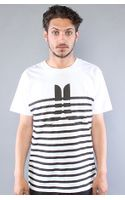 Wesc The Icons & Stripes Tee in White - Lyst
