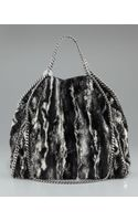 Stella McCartney Eco-fur Falabella Tote
