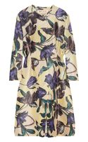 Marni Printed Silk and Linen-blend Coat