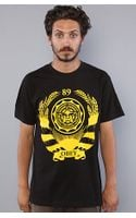 Obey The Wreath Basic Tee In Black - Lyst