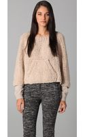 3.1 Phillip Lim Raglan Sleeve Pullover Sweater