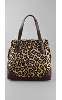 Tory Burch City Haircalf Zip Tote