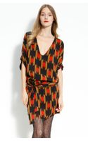 Diane Von Furstenberg Edna V-neck Dress - Lyst