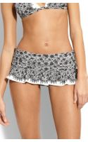Juicy Couture Little Lulu Skirted Bikini Bottoms