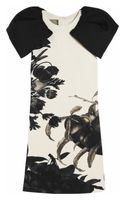Giambattista Valli Floral-print Wool-crepe Dress