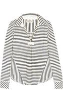 Textile Elizabeth And James Castaway Striped Cotton Top - Lyst