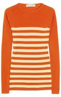 Stella McCartney Striped Fine-knit Wool Sweater