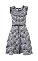 Yigal Azrouel Jacquard Dress - Lyst