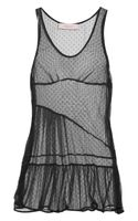 Preen Line Shadow Point Desprit Tulle Tank - Lyst