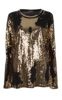Balmain Sequin Top - Lyst