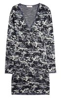 Matthew Williamson Space Abstract Knitted Sweater Dress