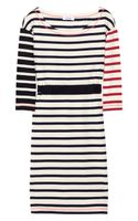 Sonia By Sonia Rykiel Striped Cotton-jersey Dress - Lyst