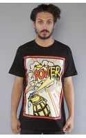 Obey The Power Basic Tee In Black