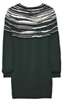 M Missoni Wool-blend Striped Sweater - Lyst