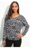 Michael by Michael Kors Zebra Print Top