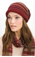Tarnish Folk Knit Slouchy Cap