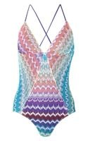 Missoni Camaiore Crochet-Knit Swimsuit