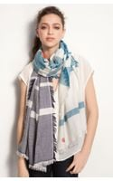Tory Burch Wool & Silk Scarf - Lyst