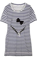 Sonia By Sonia Rykiel Striped Cotton T-shirt and Tote Set