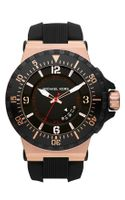 Michael by Michael Kors Michael Kors Major Large Silicone Strap Watch