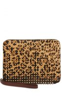 Christian Louboutin Cris Ipad Case Pony Spike Tech Accessory