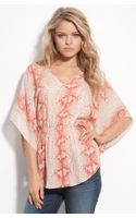 Parker Printed Silk Top - Lyst