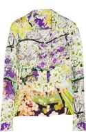 Mary Katrantzou Printed Silk-chiffon Blouse
