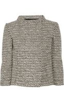 Valentino Roma Wool-blend Tweed Jacket - Lyst