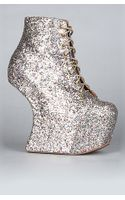 Jeffrey Campbell The Night Lita Shoe in Multi Glitter (exclusive)