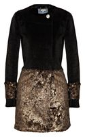 Gryphon Nick Faux Fur Coat - Lyst