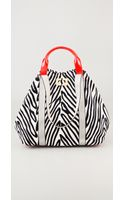 Diane Von Furstenberg Large Kaya Printed Canvas Bag