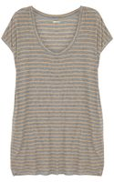 By Malene Birger Oversized Striped Cotton T-shirt