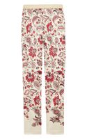 Clements Ribeiro Printed Silk Skinny Pants