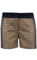 Giles Metallic Shorts - Lyst